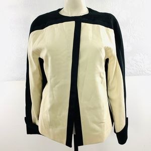 Gianfranco Ferre Wool Colorblock Blazer Sz 42 US M